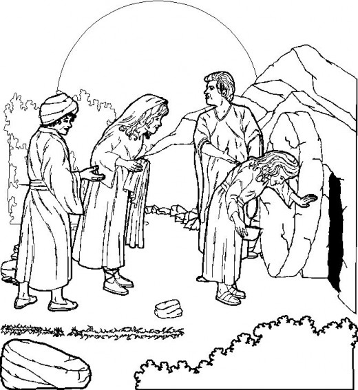 Desenhos Da Pascoa Para Colorir Evangelicos Jesus Brinquedos De