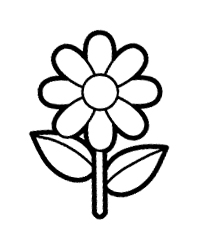 Flor Bonita Para Colorir Desenhos Da Primavera Para Imprimir