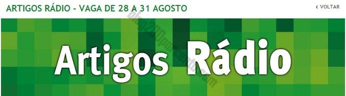 Promoções JUMBO de 28 a 31 agosto - artigos rádio