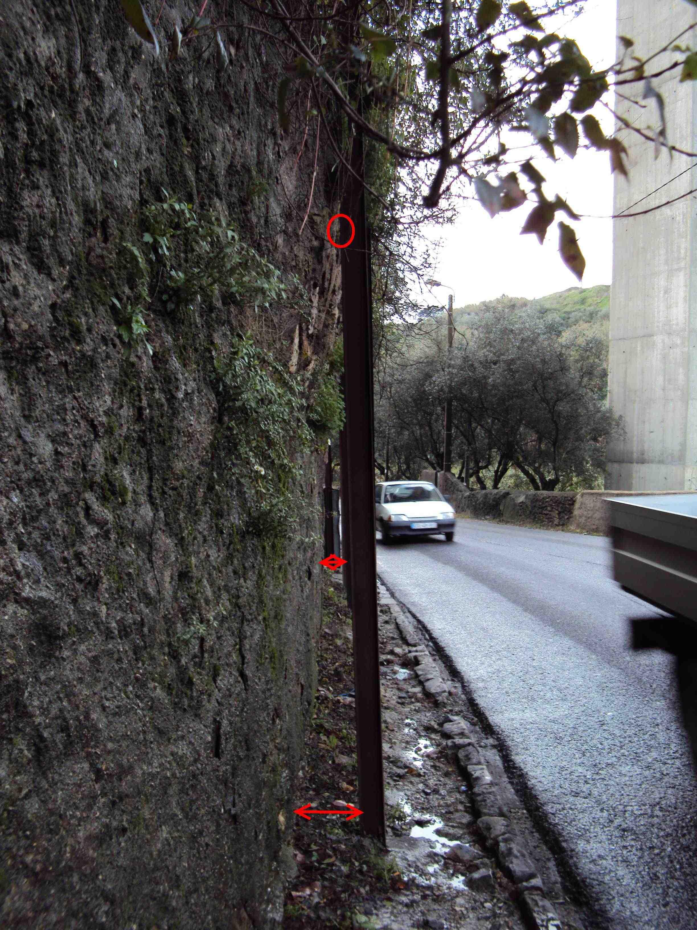 EN117 - Muro em Perigo