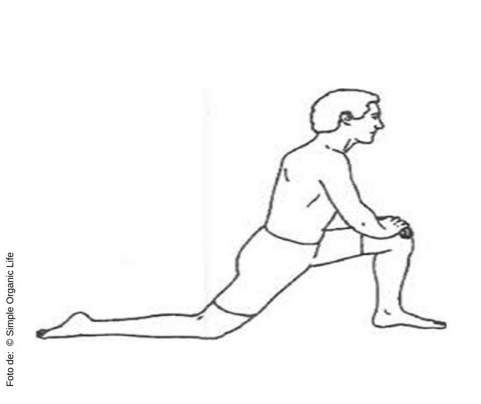 Mantenha a posição por 30 segundos , em seguida troque e repita.
