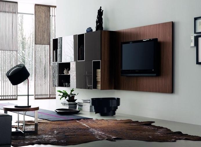 Pin decora salas pequenas modernas planejadas ideias para for Alfombras para salas modernas