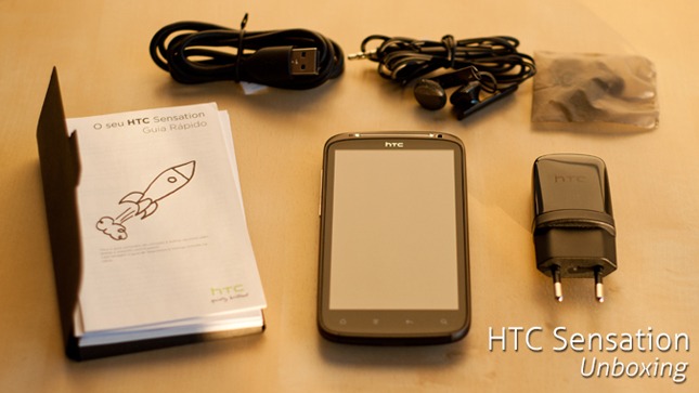 HTC Sensation Unboxing