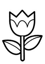 desenhos de flores para pintar lirio desenhos para imprimir